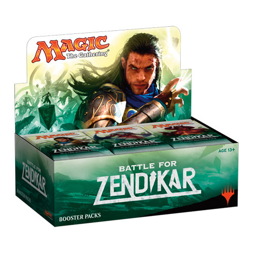 Magic the Gathering: Battle for Zendikar - Booster Box (36)