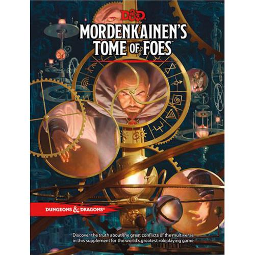 D&D 5E RPG: Mordenkainen's Tome of Foes (Hardcover)
