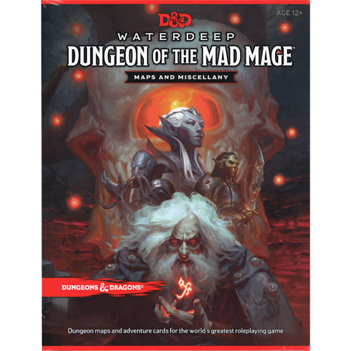 D&D 5E RPG : Waterdeep Dungeon of the Mad Mage - Maps