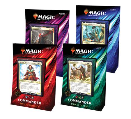 Magic the Gathering: Commander 2019 - Deck Set (4 Decks