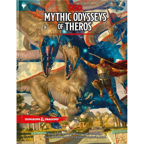 D&D 5E RPG: Mythic Odysseys of Theros