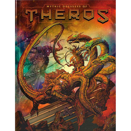 D&D 5E RPG: Mythic Odysseys of Theros (Exclusive Alternate Cover)