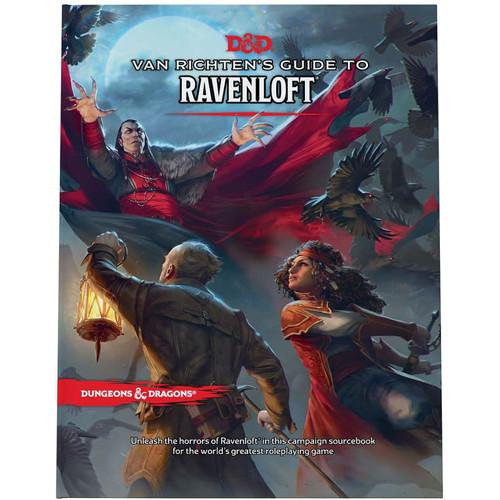 D&D 5E RPG: Van Richten's Guide to Ravenloft