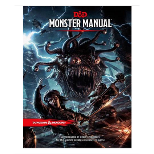 D&D 5E RPG: Monster Manual (Hardcover)