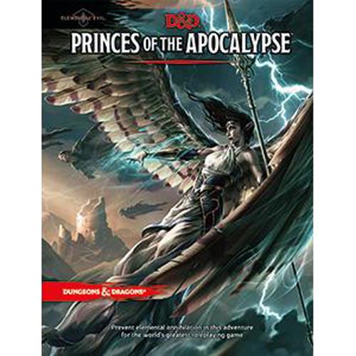 D&D 5E RPG: Elemental Evil - Princes of the Apocalypse