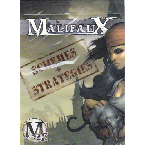 Malifaux 2E: Schemes & Strategies Deck