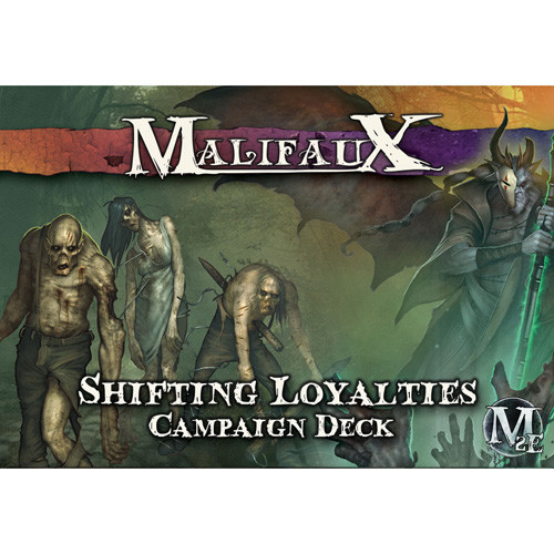 Malifaux 2E: Shifting Loyalties Campaign Deck