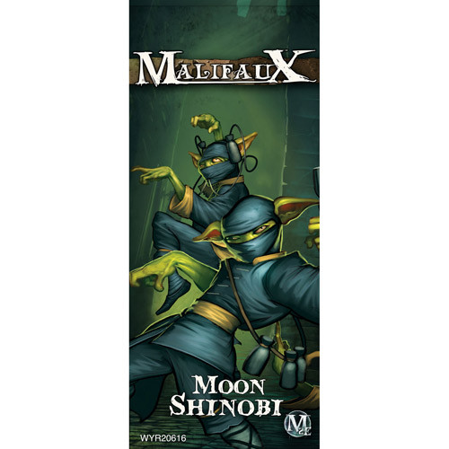 Malifaux 2E: Gremlins - Moon Shinobi (3)