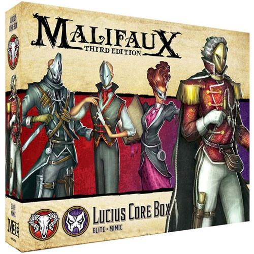 Malifaux 3E: Guild/Neverborn - Lucius Core Box