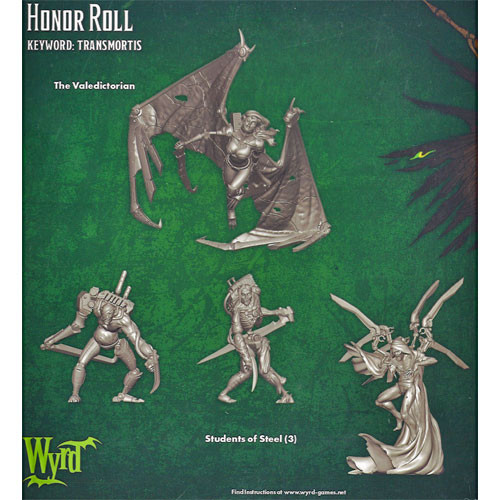 Malifaux 23207 Resurrectionists Honor Roll
