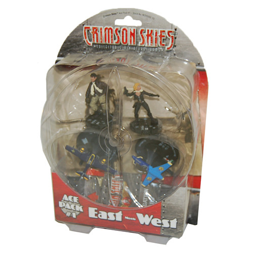 Crimson Skies Ace Pack #1 - East Meets West