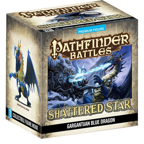 Pathfinder Battles: Shattered Star - Blue Dragon (Gargantuan Promo)