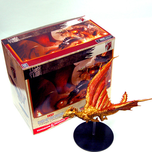 D&D: Tyranny of Dragons - Brass Dragon Premium Figure