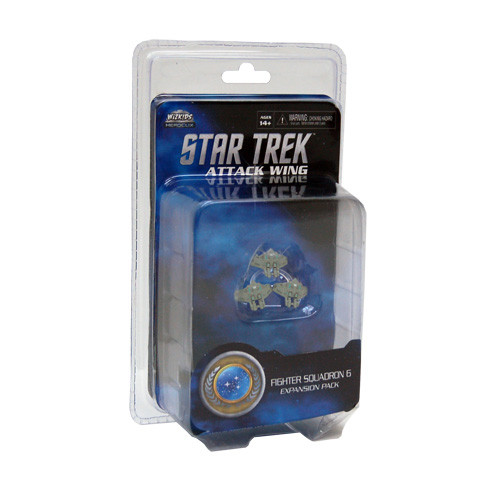 Star Trek: Attack Wing - Federation: Fighter Squadron 6 Expansion Pack