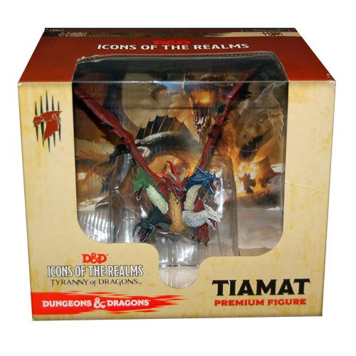 D&D Icons of the Realms Miniatures: Tyranny of Dragons - Tiamat