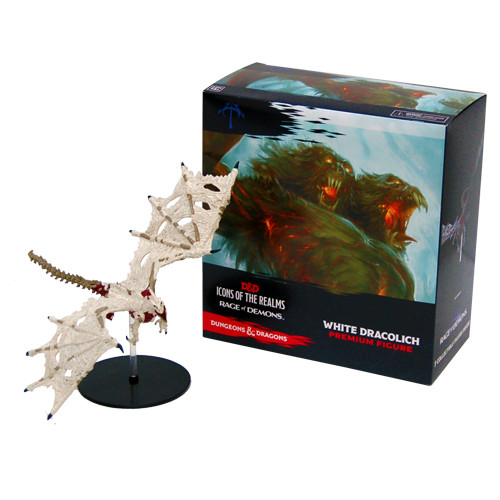 D&D: Rage of Demons - White Dracolich
