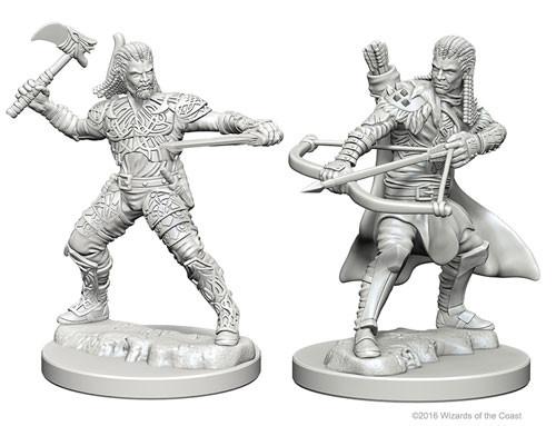D&D Nolzur's Marvelous Unpainted Miniatures: Human Male Ranger (2)