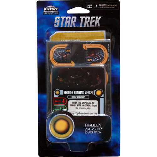 Star Trek Attack Wing: Hirogen Warship Card Pack