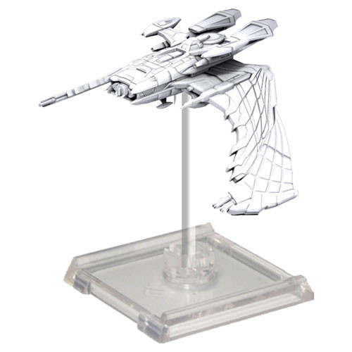 Star Trek Deep Cuts Unpainted Ships: Reman Warbird