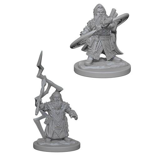 Pathfinder Battles Deep Cuts Miniatures: Dwarf Male Sorcerer