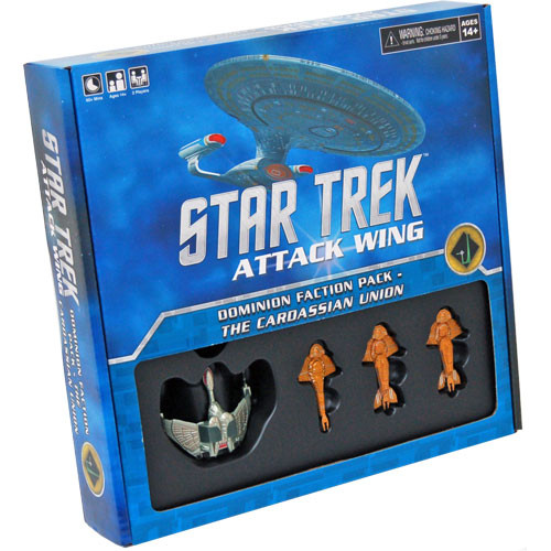 Star Trek Attack Wing: Dominion Faction Pack - The Cardassian Union