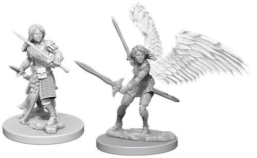 D/&D Nolzur/'s Marvelous WZK73343 Unpainted Miniatures Aasimar Female Paladin