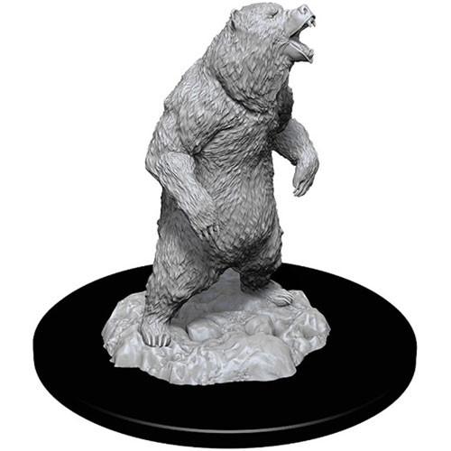 Wizkids Deep Cuts Unpainted Miniatures: Grizzly (1)