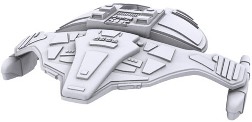 Star Trek Deep Cuts Unpainted Ships: Jem'Hadar Attack Ship