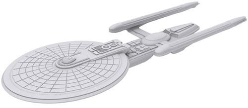 Star Trek Deep Cuts Unpainted Ships: Excelsior Class