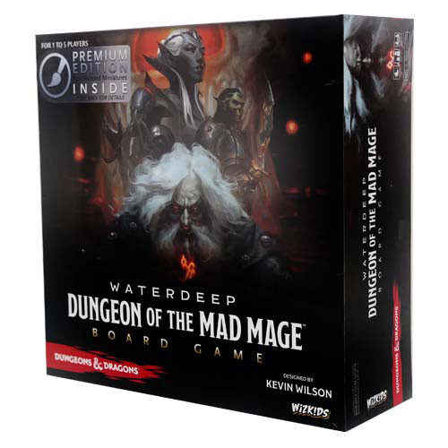 D&D Waterdeep: Dungeon of the Mad Mage Board Game (Premium