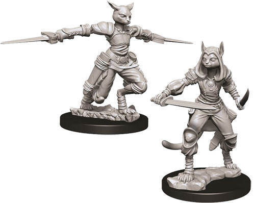 D D Nolzur S Marvelous Unpainted Minis W9 Female Tabaxi Rogue Table Top Minis Miniature Market Tabaxi have a ridiculous ability to double their movement on a turn. d d nolzur s marvelous unpainted minis w9 female tabaxi rogue