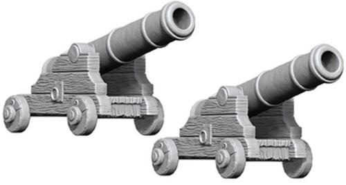 WizKids Deep Cuts Unpainted Minis: W9 Cannons
