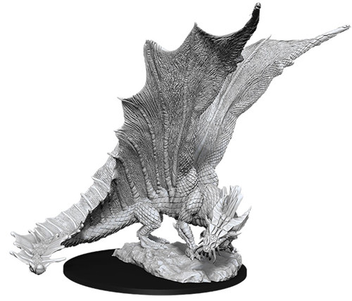 D&D Nolzur's Marvelous Unpainted Miniatures: W11 Young Gold Dragon