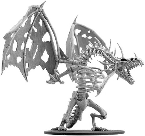 Pathfinder Deep Cuts Unpainted Minis: W11 Gargantuan Skeletal Dragon