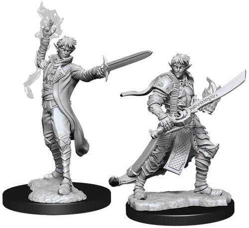 Pathfinder Battles Deep Cuts Unpainted Miniatures: W11 Male Elf Magus