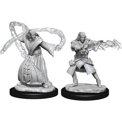 D/&D Nolzur/'s Marvelous Unpainted Miniatures Male Elf Sorcerer