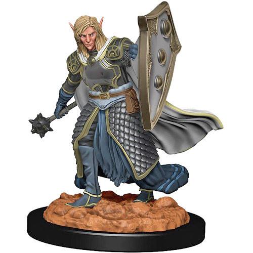 D&D Premium Painted Figure: Male Elf Cleric