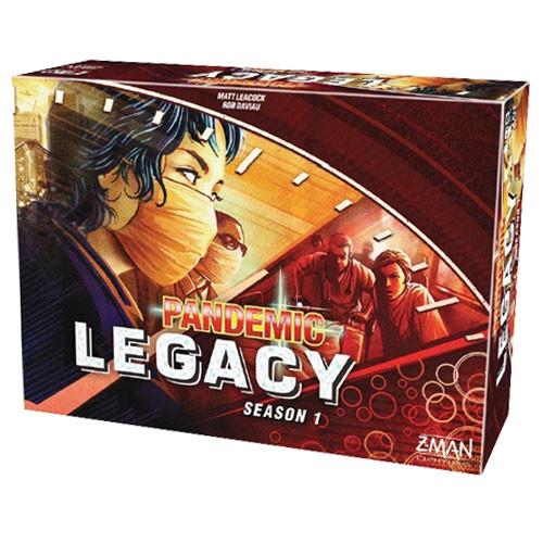 Pandemic Legacy: Season 1 - Red