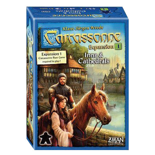 Carcassonne: Expansion 1 - Inns and Cathedrals (New Edition)