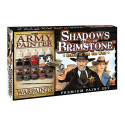 Shadows of Brimstone: Heroes of the Old West Paint Set