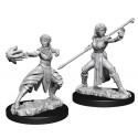 D&D Nolzur's Marvelous Unpainted Miniatures: Female Half-Elf Monk (2)