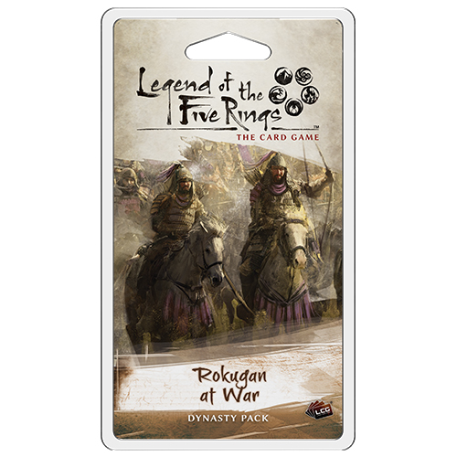 Legend of the Five Rings LCG The Ebb and Flow Dynasty Pack Sealed New FFG L5R