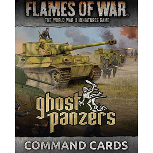 Flames of War BNIB Ghost Panzers Unit Cards FW251U