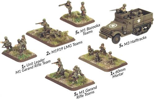 Flames of War: WW2 - M5 Stuart Light Tank Platoon | Table