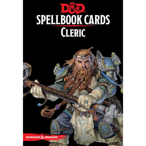 D&D 5E RPG: Spellbook Cards - Martial Powers & Races