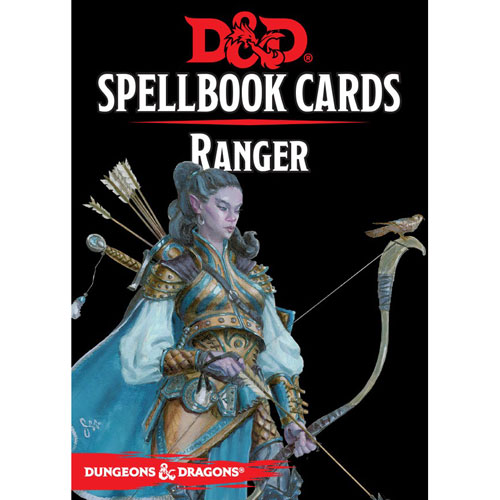 D&D 5th Edition RPG: Spellbook Cards - Bard (Version 3