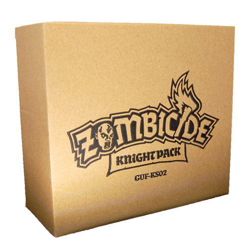 Zombicide: Black Plague – Knight Pack board game
