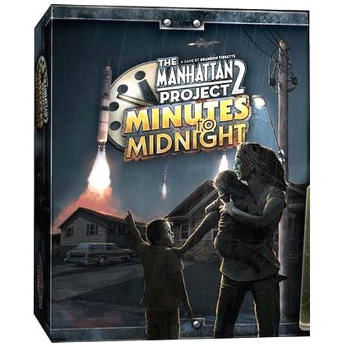 The Manhattan Project 2: Minutes to Midnight board game
