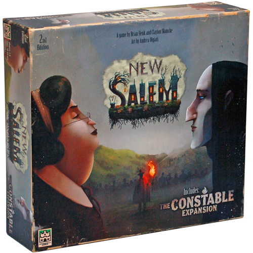 New Salem: Second Edition board game