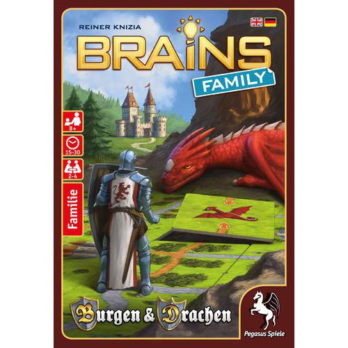 Brains Family: Burgen & Drachen board game